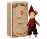 Maileg - Christmas mouse in box - Big brother in box - Pre-order - Expected in stock from 15-10-2020